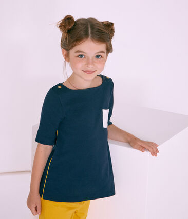 Tee-shirt manches 3/4 enfant fille