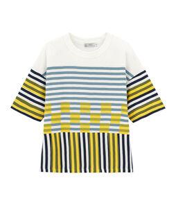 Tee-shirt graphique manches courtes mixte