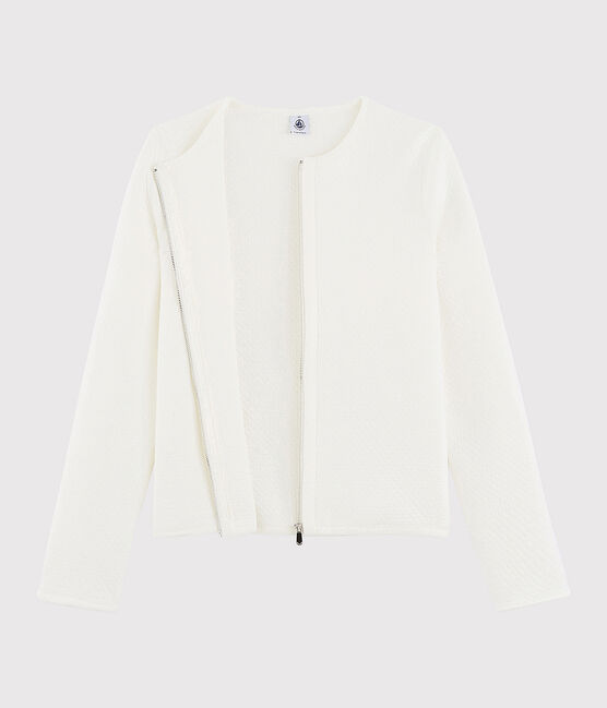 Veste cardigan Femme blanc Marshmallow