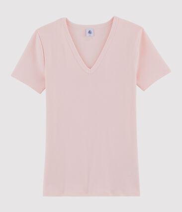 Tee shirt iconique femme rose Minois