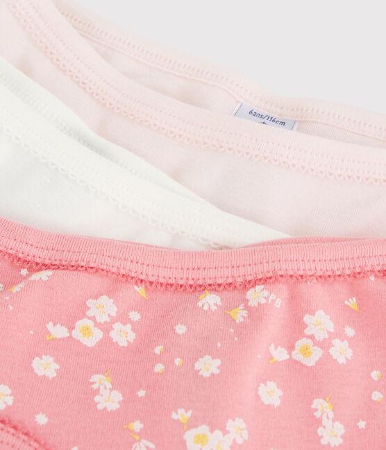 Lot de 3 culottes fleur de cerisier petite fille lot .