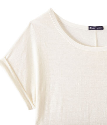 Tee-shirt fluide femme en lin
