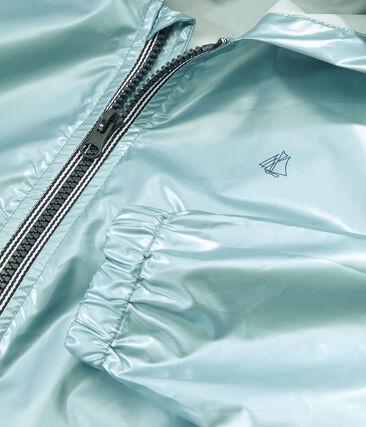 Coupe-vent enfant mixte bleu Crystal Brillant