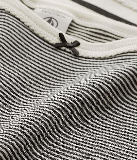 Lot de 2 de chemises à bretelles à rayures fille lot .
