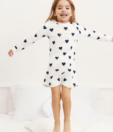 Chemise de nuit petite fille en côte
