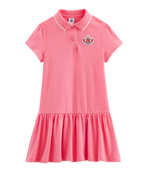 Robe enfant fille rose Cupcake
