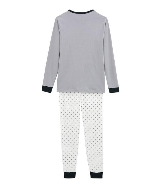 Pyjama garçon blanc Marshmallow / blanc Multico