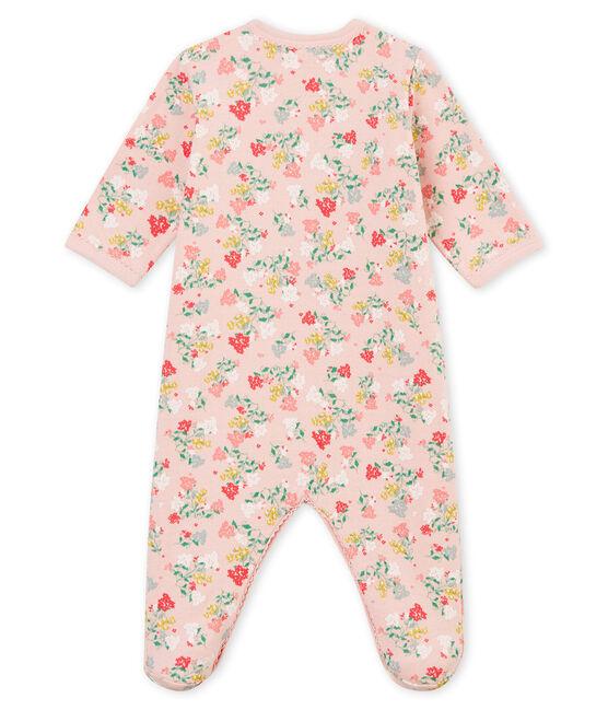 Dors bien bébé fille rose Joli / blanc Multico