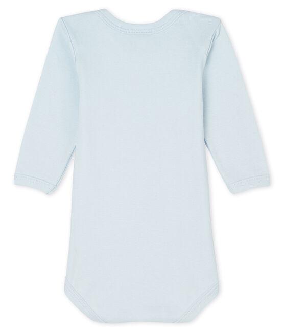 Body manches longues bébé garçon-fille bleu Fraicheur