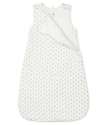 Gigoteuse bébé en côte blanc Marshmallow / blanc Multico
