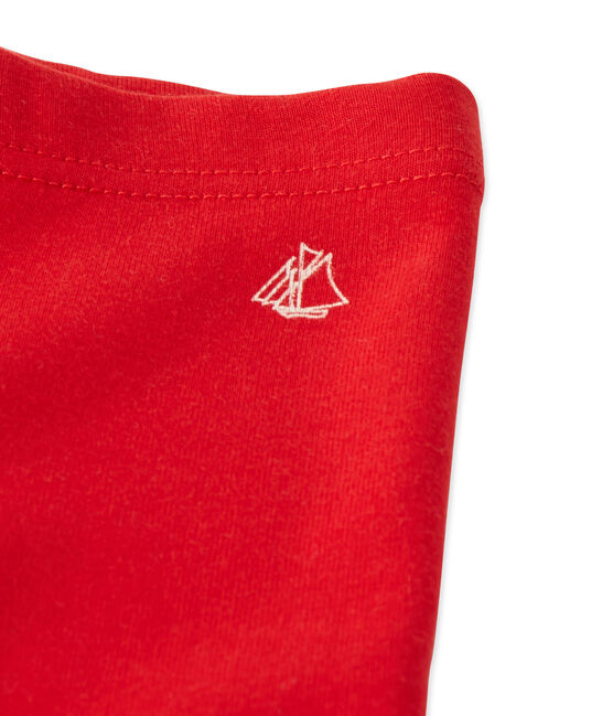 Legging bébé fille rouge Froufrou