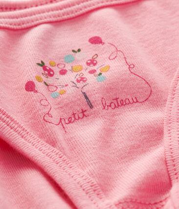 Culotte petite fille rose Petal