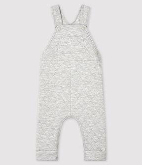 Salopette longue bébé garçon gris Beluga