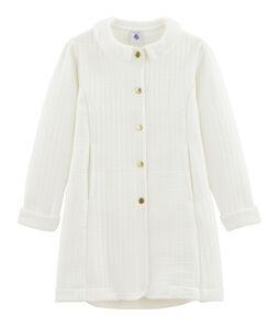 Manteau enfant fille blanc Marshmallow