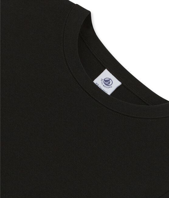 Tee shirt femme iconique en manche longues noir Noir