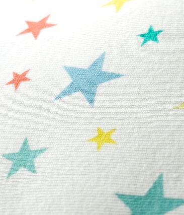 Coussin en côte blanc Marshmallow / blanc Multico
