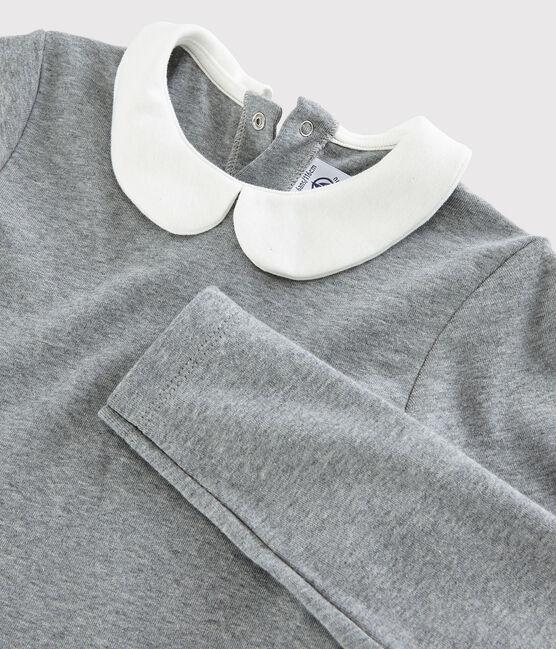 Robe manches longues enfant fille gris Subway