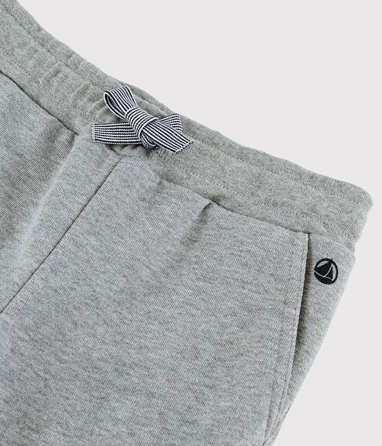 Pantalon en molleton enfant garçon gris Subway