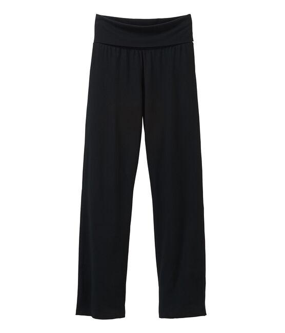 Pantalon maille femme noir Noir