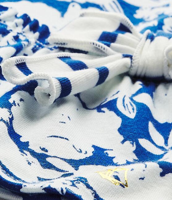 Robe bébé fille à fleurs blanc Marshmallow / blanc Multico