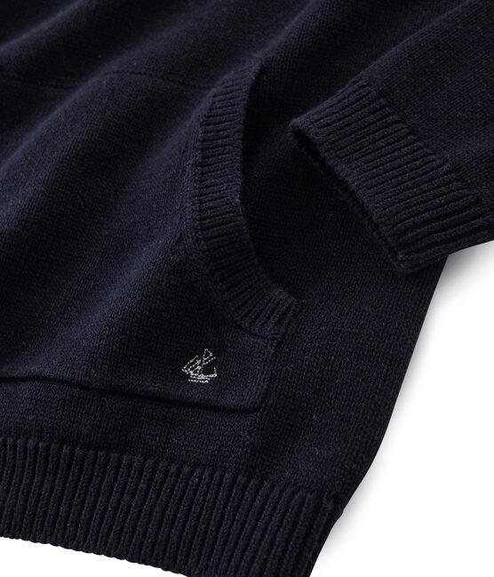 Pull tricot laine et coton enfant garçon SMOKING