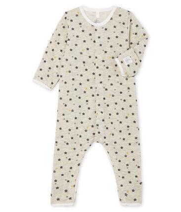 Combinaison longue bébé en laine et coton MONTELIMAR/MULTICO CN