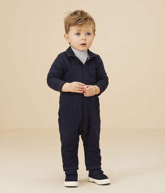 Combinaison longue bébé garçon bleu Smoking