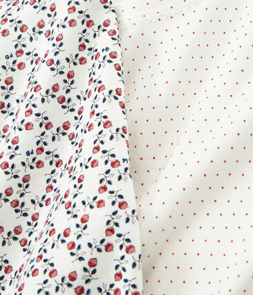 Duo de tee-shirts petite fille