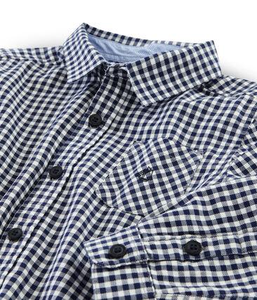 Chemise à carreaux enfant garçon