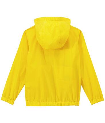 Coupe-vent enfant jaune Jaune