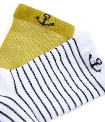 Lot de 2 paires de chaussettes enfant garçon