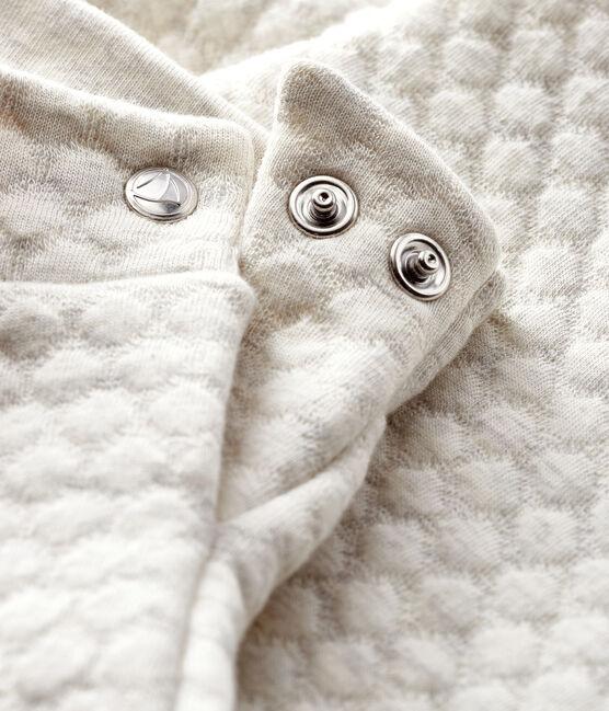 Pantalon bébé fille en tubique gris Montelimar Chine
