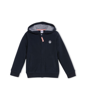 Sweat shirt zippé en polaire