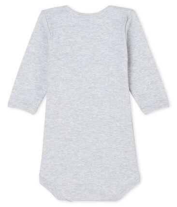 Body manches longues bébé garçon-fille gris Poussiere Chine