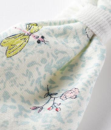 Bandeau cheveux bébé fille blanc Marshmallow / blanc Multico