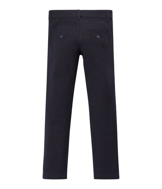 Pantalon enfant garcon bleu Smoking
