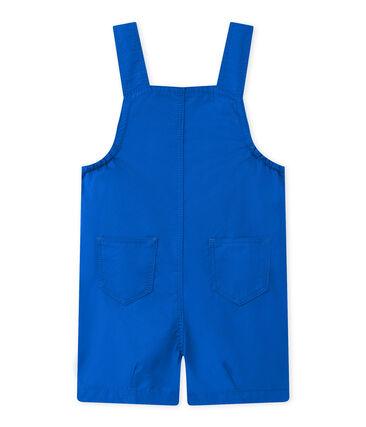 Salopette courte bébé garçon bleu Perse