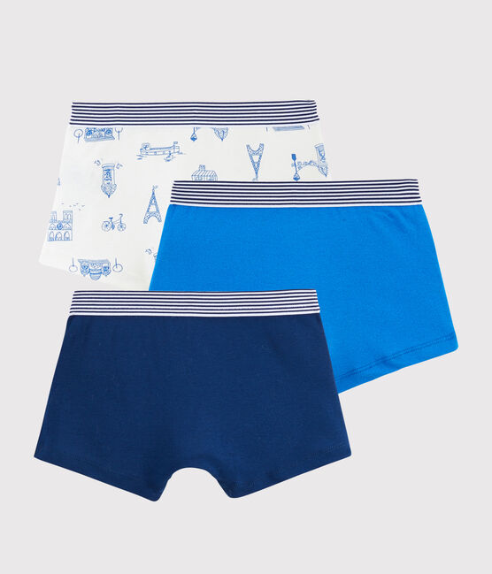 Lot de 3 boxers Paris petit garçon lot .