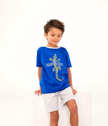 Tee-shirt enfant garcon bleu Surf