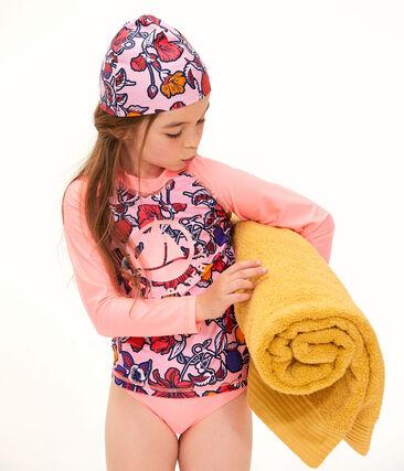 Bonnet de bain anti-UV UPF 50+ bébé fille lot .