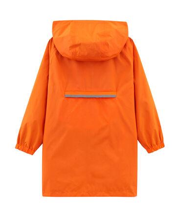 Coupe-vent réversible enfant mixte orange Carotte / bleu Fontaine