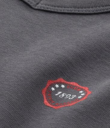T-shirt garçon col V à motif