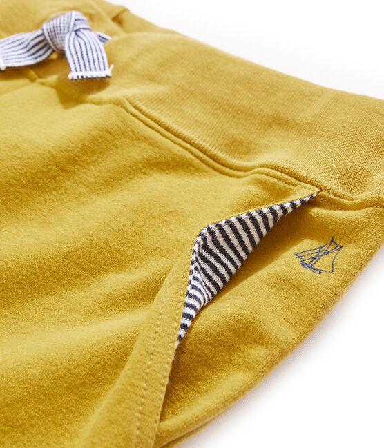 Pantalon enfant garçon jaune Bamboo