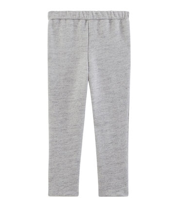 Pantalon fille en molleton gris Vicky Bleu Chine