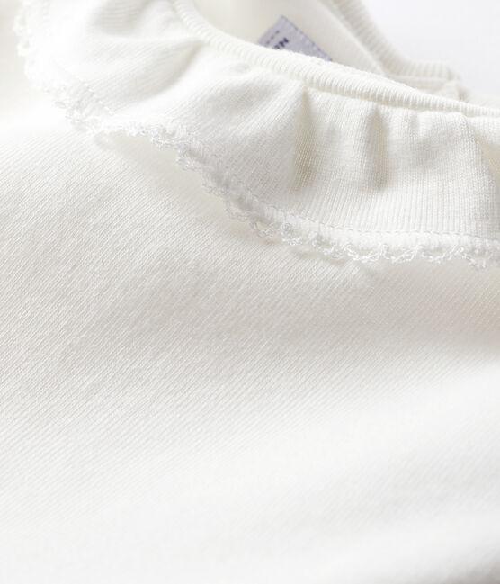 Body bébé fille à collerette blanc Marshmallow
