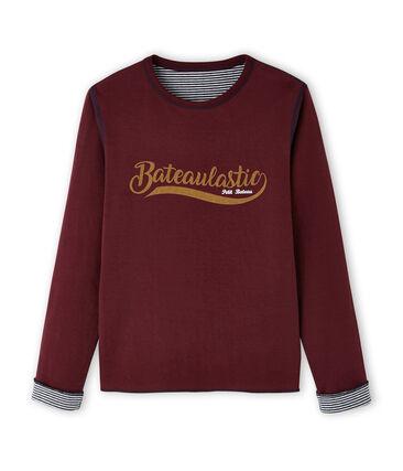 tee-shirtmanches longues reversible