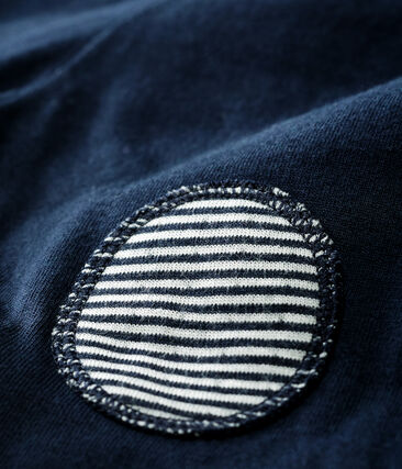Pantalon bébé en tubique bleu Smoking