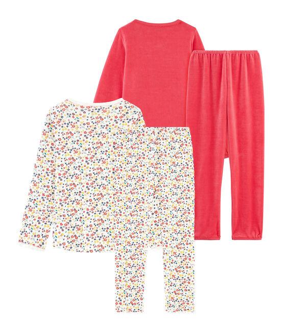 Duo de pyjamas petite fille lot .