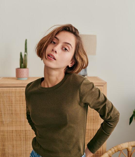 T-shirt iconique col rond Femme DAPHNE