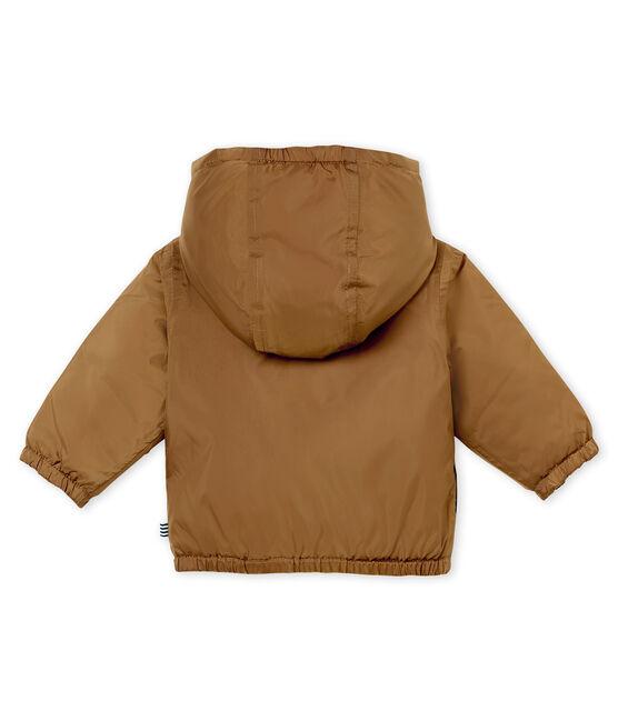 Coupe-vent chaud réversible bébé mixte marron Brindille